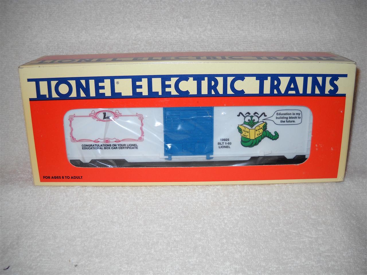 Lionel o gauge rolling stock market