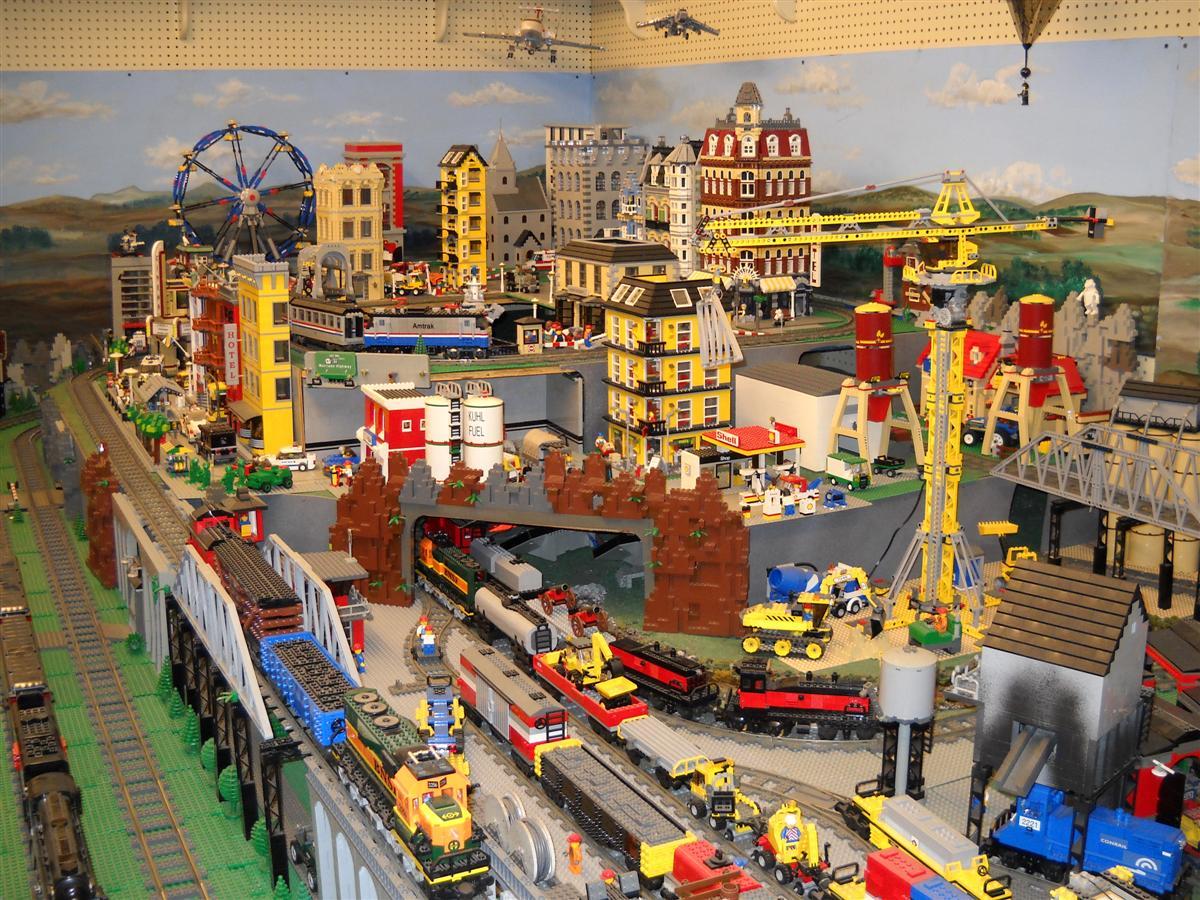 Image Gallery Lego Train Layout